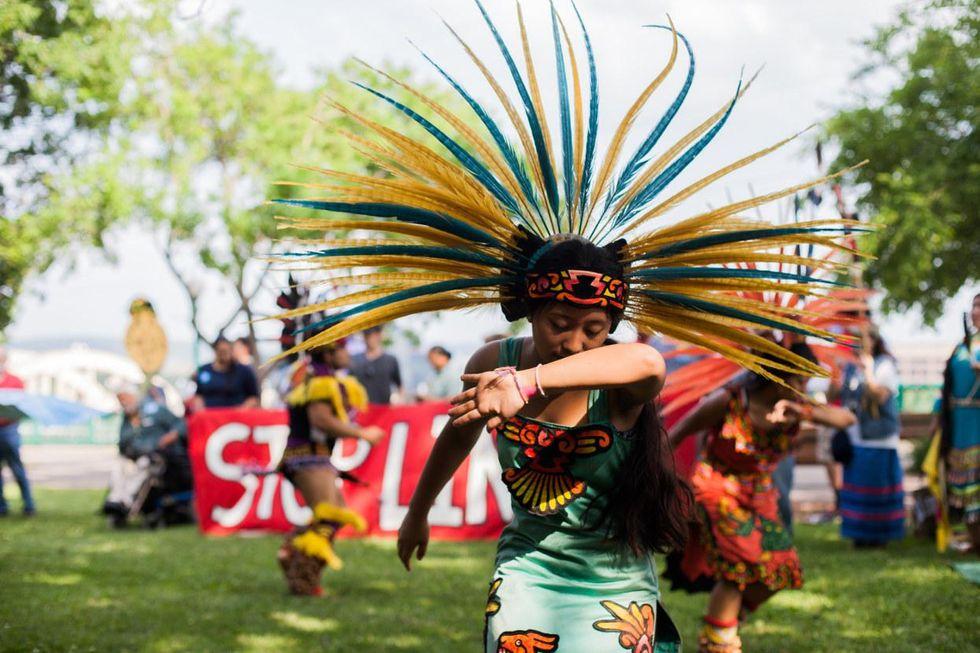 line 3 indigenous protest